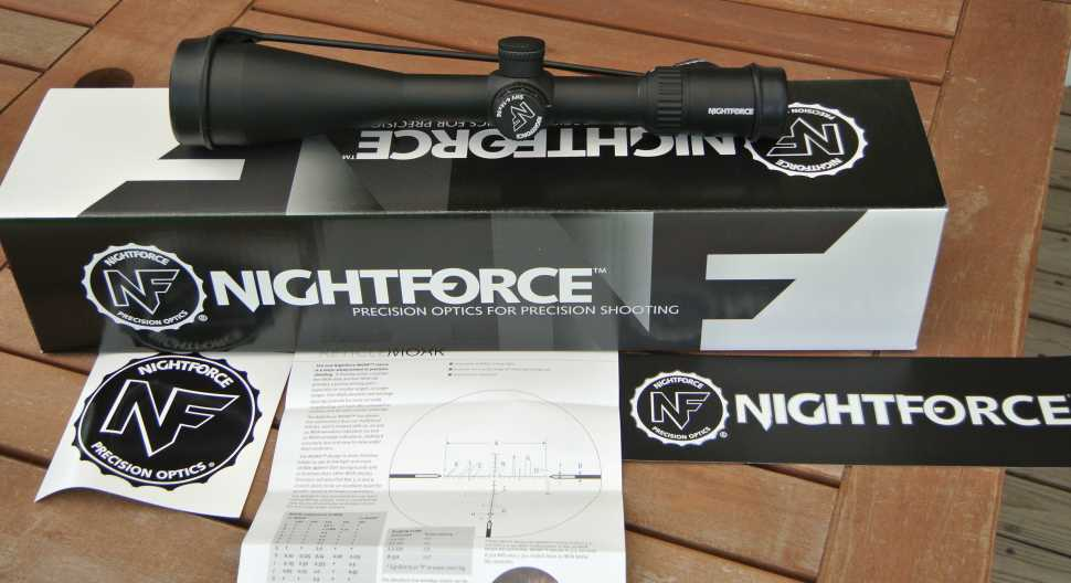 Nightforce SHV Unboxing