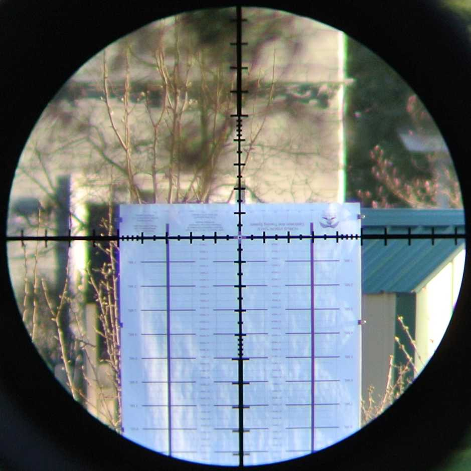 Horus CATS 280F target inverted and viewed though the Leupold Mark 6 3-18x44