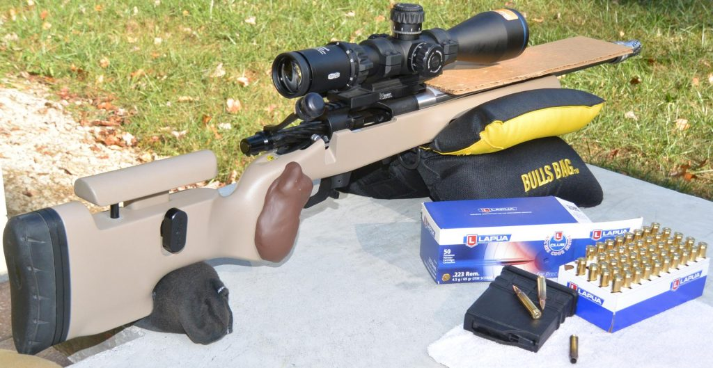Meopta Optika6 5-30×56 RD FFP on Kelbly's Atlas Tactical rifle