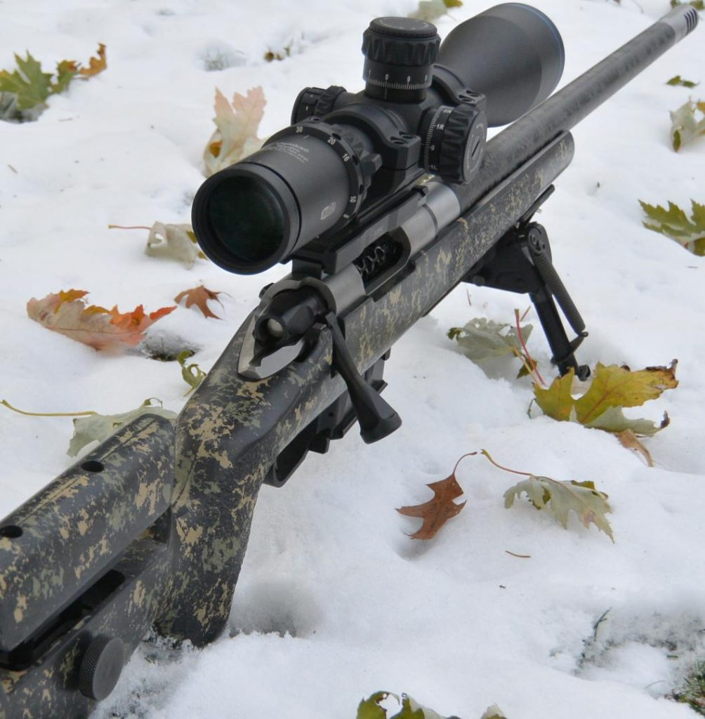 Meopta Optika6 5-30x56 RD FFP on Mesa Precision Arms Crux Rifle