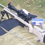 Sightron S-Tac 4-20X50FFPZSIRMH on Kelbly Atlas Tactical with it's Favorite Lapua Ammo